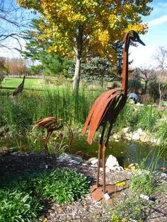 Metal Garden Sculpture
