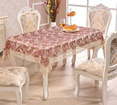 "Luxury Lace Leaf Tablecloth Table Cover 108x72""Rectangle Party Theme Wedding  #ADASMILE"
