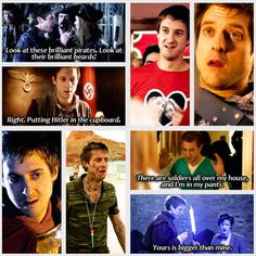 Doctor Who: Rory Williams. (gif)