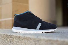 69ce07d24b219 Nike Roshe Run NM Sneakerboot – Black   Blue – Grey