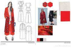 Mise En Page Portfolio Mode, Fashion Portfolio Layout, Fashion Design Sketchbook, Fashion Illustration Sketches, Fashion Design Drawings, Fashion Sketches, Portfolio Design, Dress Sketches, Drawing Fashion