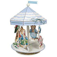 Peter Rabbit Baby Shower Centerpiece