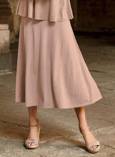 147354065c Womens Knit Skirts: Shop Womens Skirts Knit in Peruvian Pima Cotton, Alpaca  & Baby Alpaca
