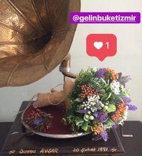 Gelin Buketi - Gelin Damat çiçeği, El çiçeği Modelleri