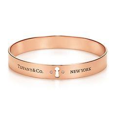 Tiffany Locks – Diamantarmreif aus 18 kt. Roségold, Medium.