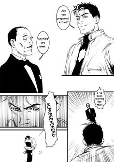 There is nothing more amazing than Alfred and Jay moments :)