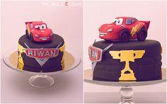 cars cake, Flash macqueen, birthday cake