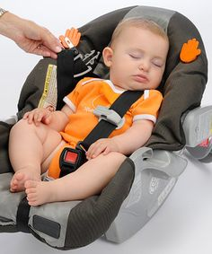.magnetic clips to hold the car seat buckles while you are putting your baby in!!! I so should have invented this!!!!