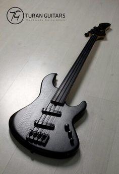 Black Bass by Turan Guitars