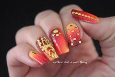 Born Pretty Store - Gold Nail Art adornment