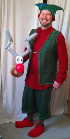 Bevan - Balloon Modelling Elf