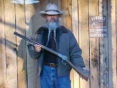 Cimarron .45 Colt Model 1892 Lever Action Rifle. The Model 1892 Winchester is one of the great rifles of all time. It was designed at the request of Winchester Repeating Arms Company by John Browning as a scaled down version of the Model 1886 rifle. The Model 1886 was ideal to handle the large rifle cartridges of the day, but Winchester wanted a handier, lighter, and stronger replacement for their Model 1873 rifle. By Jeff Quinn, photography by Jeff Quinn & Boge Quinn.