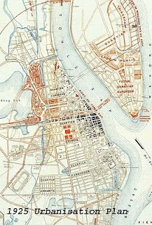 Map of Phnom Penh circa 1925 Old Maps, Antique Maps, Phnom Penh Map, Indochine, City Maps, Historical Maps, Angkor, Map Art, Designs To Draw