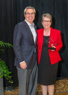 Janet Rudisill and Dave North, President & CEO of Sedgwick