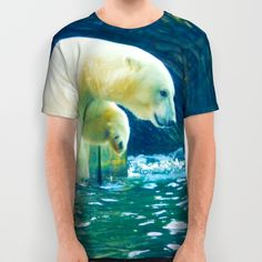 Polar All Over Print Shirt by Mixed Imagery | Society6