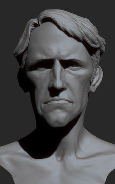 Zbrush face by mojette on DeviantArt Zbrush Character, Character Art, Character Design, Volume Art, Tutorial Zbrush, Head Anatomy, Comic Face, Sculpting Tutorials, Sculpture Head