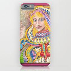 Queen of Hearts iPhone & iPod Case