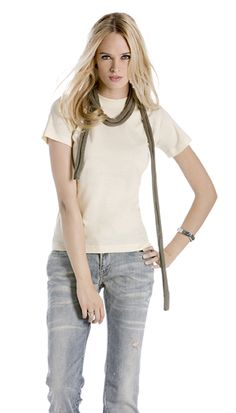 B&C T-shirt donna 100% cotone biologico Biosfair | T-shirts e maglie | Abbigliamento donna | Mikyart.it