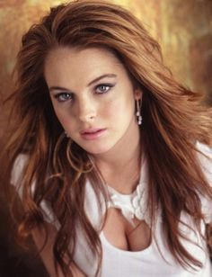 Cool and cute Lindsay Lohan Hairstyles Worlds Best Hairstyles More