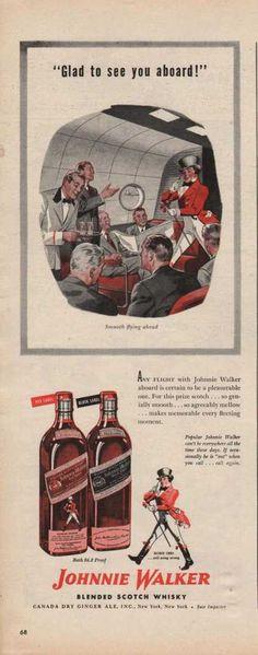 Johnnie Walker Blended Scotch Whiskey (1942)