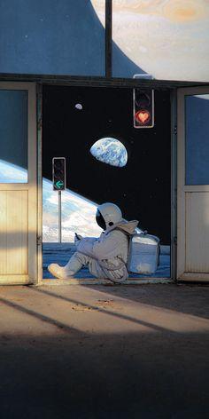 Space Phone Wallpaper, Mood Wallpaper, Scenery Wallpaper, Galaxy Wallpaper, Cute Pastel Wallpaper, Aesthetic Pastel Wallpaper, Aesthetic Backgrounds, Aesthetic Wallpapers, Astronaut Wallpaper