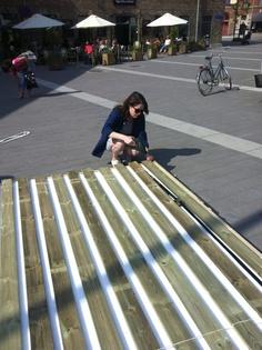 Sara by the raft Rafting, Sidewalk, Side Walkway, Walkway, Walkways, Pavement