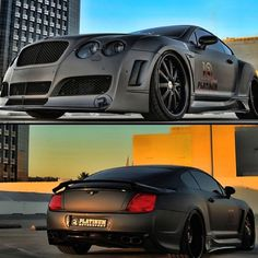 Mean Bentley Continental GT