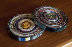 Coasters | 35 New Uses For Old Newspapers And Magazines