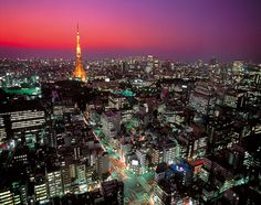 Tokyo, Japan (and no that's not the Eiffel Tower)