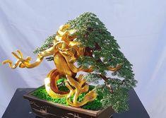 Buy Bonsai Tree, Bonsai Art, Bonsai Garden, Wire Jewelry Making, Wire Wrapped Jewelry, Wire Art, Cool Artwork, Wire Wrapping, Christmas Wreaths