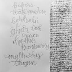 #handlettering #calligraphy #typography #practice