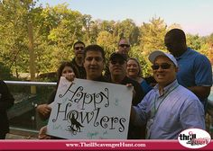 Covestro (formerly Bayer MaterialScience) team building scavenger hunt Thrill of the Hunt - Pittsburgh Zoo & PPG Aquarium #ThrillofHunt 10/8/15