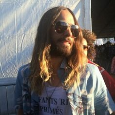 Jared at Coachella 2014 Jered Leto, Coachella 2014, Life On Mars, Rock Groups, Just Jared, 30 Seconds, Thirty Seconds, My Crush, Jensen Ackles