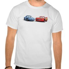 Cars Lighting McQueen and Sally Disney Tees