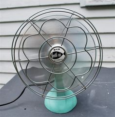 McGrawEdison Vintage Electric Fan in by GyreAndGimbleMaine on Etsy