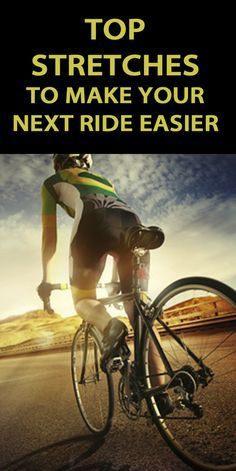 5 STRETCHES TO MAKE YOUR NEXT RIDE EASIER. If you want to perform at your best, it's vital to include stretching in your cycling regime. Not only do they help prevent injury, but can also increase your range of motion, flexibility and improve posture. Cycling Tips, Cycling Workout, Road Cycling, Bike Workouts, Swimming Workouts, Swimming Tips, Chest Workouts, Road Bike, Triathlon Training