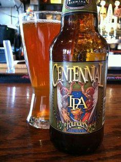Founders Brewing Co. (MI) Centennial IPA - ba 93 abv 7.2