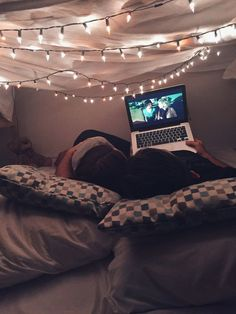 # relationshipgoals Make it a date night. | 21 Cozy Sanctuaries To Shelter You From Adulthood