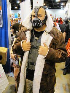 Bane, Dark Knight Rises cosplay. DAN!,  Go To www.likegossip.com to get more Gossip News!