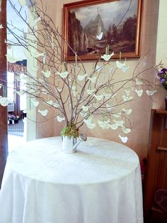 Mikki and Hector have a bird-themed wedding - Preston-Woodall House Bed and Breakfast, Benson, NC - http://ncweddingministerblog.blogspot.com/2011/09/mikki-and-hector-create-beautiful.html