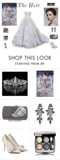 """""""Kiera Cass - """"The Heir"""" Outfit"""" by billsacred ❤ liked on Polyvore featuring Oscar de la Renta, Jenny Packham, Chanel and Christian Dior"""