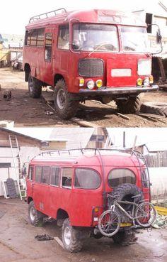 Полноприводный кемпер на базе ГАЗ 66 и автобуса ПАЗ / Самодельные кемперы (DIY) / Кемпер 4x4 | полноприводные автодома, жилые прицепы | караванинг, статьи, обзоры