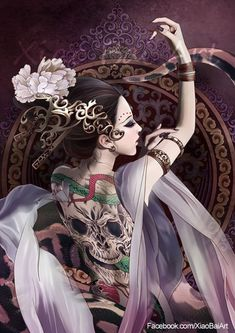 Mahiraga, Snake god in Buddhist Legend... Mahiraga by XiaoBaiArt.deviantart.com on @DeviantArt_Digital Art / Drawings & Paintings / Fantasy©2011-2015 XiaoBaiArt