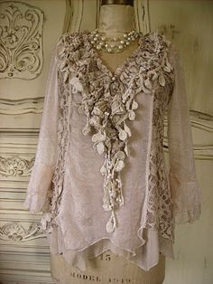 Amazing Lace and Ruffled Clothes I would love to go to afternoon Tea at the Jefferson wearing this. Or mother of... shower :)