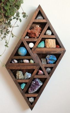 Rock and crystal storage and display. Premium Complete Collection Shift Design - NEW | Stone & Violet