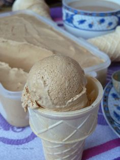 Lody kawowe z3 składników Healthy Dishes, Finger Food, Sorbet, Popsicles, Sweet Treats, Ice Cream, Sweets, No Churn Ice Cream, Pallets