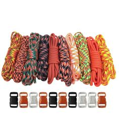 Paracord Planet 550lb Type III Paracord Combo Crafting Kits with FREE Buckles - For Friendship Bracelets and Craft Beginners * You can get more details by clicking on the image.
