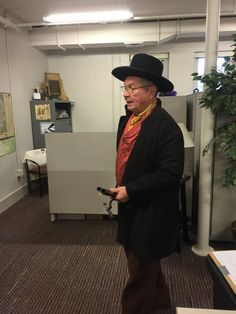 There once was a Sheriff named Jones, Who barged into our office alone, He pulled out his shackles And raised all our hackles Then threw us in jails made of stone! #GivingTuesday