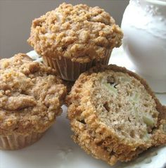 "The Best Apple Pie Muffins Ever from Food.com: I got this recipe from a friend. I make these often and take them to many potlucks, office parties, the cottage, picnics, children's lunch and the list goes on. Recipe from the cookbook ""Just The Best."""
