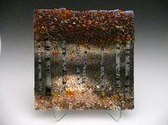 Dark Aspens by LJohnson of Wild Ideas Glass